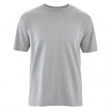 T-shirt Basic in Canapa e Cotone Biologico Quarzo