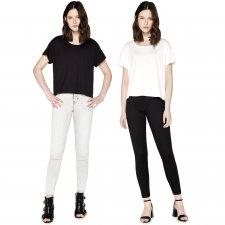T-shirt Boxy donna in Viscosa ECOVERO™ e Cotone Biologico