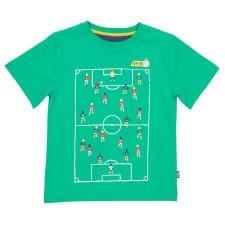 T-Shirt Calcio da Bambino in Cotone Biologico