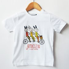 T-shirt children Invincible in organic fair trade cotton