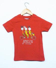 T-shirt children Invincible in organic fair trade cotton