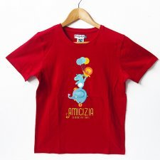 T-shirt children Strong in organic fair trade cotton