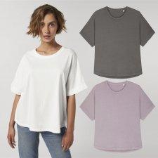 T-shirt donna Collider Vintage in cotone biologico