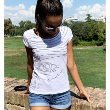 T-shirt Donna Inside Nature in cotone biologico equo