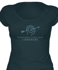 T-shirt Donna Neuroni in cotone biologico equo
