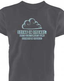 T-shirt man Dream in organic fair trade cotton