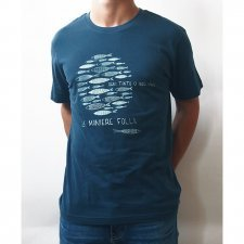T-shirt man Foolish in organic fair trade cotton