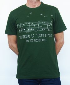 T-shirt man To Fly in organic fair trade cotton