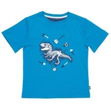 T-shirt per bambino Dino dig in cotone biologico