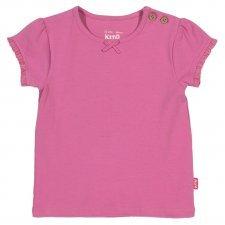 T-shirt basic Pink in organic cotton