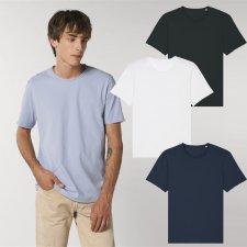 T-shirt unisex Imaginer in cotone biologico con bordo RAW