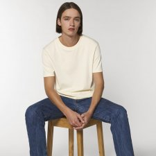 T-shirt unisex RAW in organic cotton unbleached