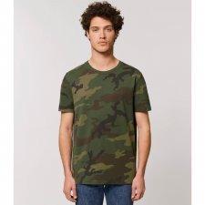 T-shirt uomo Camo in cotone biologico