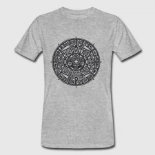 T-shirt uomo in cotone biologico Aztechi