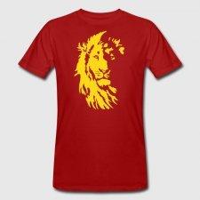 T-shirt Leone uomo in cotone biologico