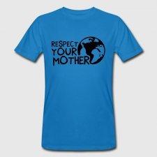 T-shirt uomo in cotone biologico Madre terra