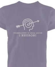 """T-shirt Uomo """"Neuroni"""" in cotone biologico equo"""