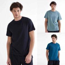 T-shirt Uomo Sport in Cotone Biologico e Tencel Modal