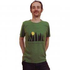 T-shirt Wild Wanderer in canapa e cotone biologico