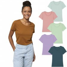 T-shirt woman Expresser round neck in organic cotton