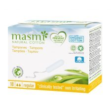 Tampons in organic cotton Masmi - Regular