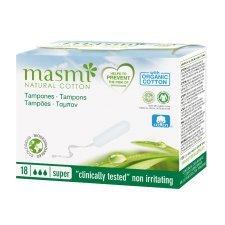 Tampons in organic cotton Masmi - Super