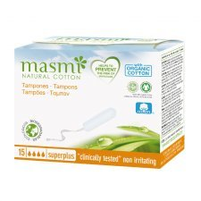 Tampons in organic cotton Masmi - SuperPlus