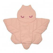 Tappeto da gioco Baby in cotone biologico Libellula Rosa