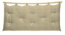 T Suoni - Testata letto Suoni in cotone (senza federa di rivestimento)