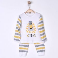 The King Children's Organic Cotton Pajamas