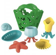 Tide Pool Bath Set Green Toys