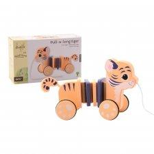 Tigre trainabile in legno ecologico