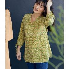 Todara Organic Cotton Printed Tunic