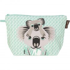 Toilet bag Mibo Koala in organic cotton