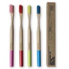 Toothbrush in bamboo - medium bristles