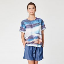 Top Sargasso Sea in Tencel and organic cotton