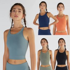 Crop Top for Sport in Organic Cotton