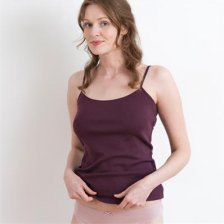 Top coloured woman in organic cotton