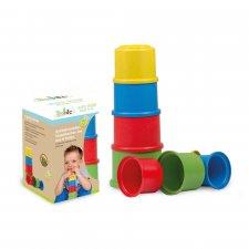 Torre a bicchieri impilabili giocattolo antibatterico autoigienizzante