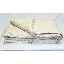 Trapunta letto singolo 4 STAGIONI in cotone e lana