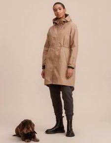 Cappotto Rey da donna impermeabile antivento in PET riciclato