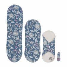 Trial kit sanitary cloth pads -  4 pcs