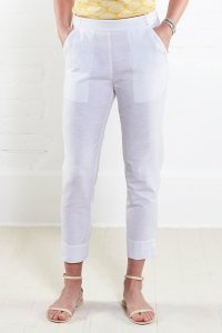 Trousers 7/8 in cotton