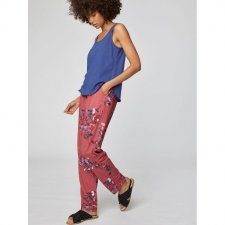 Trousers Cassia in bamboo and organic cotton jersey