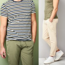 Trousers Connor in organic cotton and organic linen