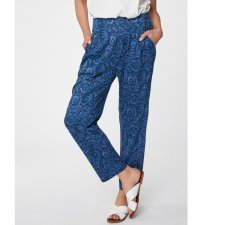 Trousers Valeria in bamboo and organic cotton
