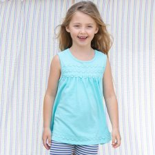 Tunic top Daisy in organic cotton