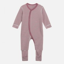 Tutina Mulle in Bamboo Righe Rosa