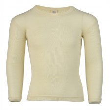 Underwear T long sleeve in wool and silk