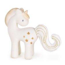 Unicorn Stars Tikiri in natural rubber with rattle